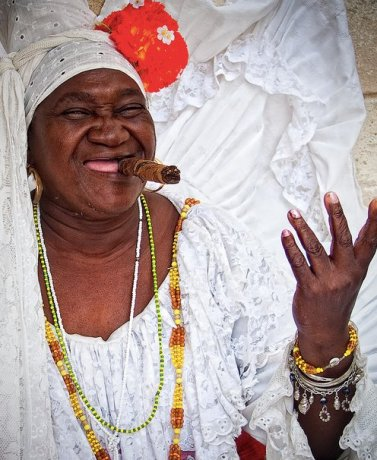Cuban Grandmother